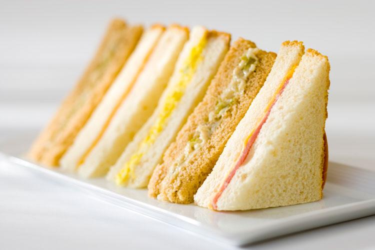 wedge sandwiches