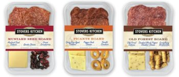 Stover's Kitchen fresh packs with meat and cheese