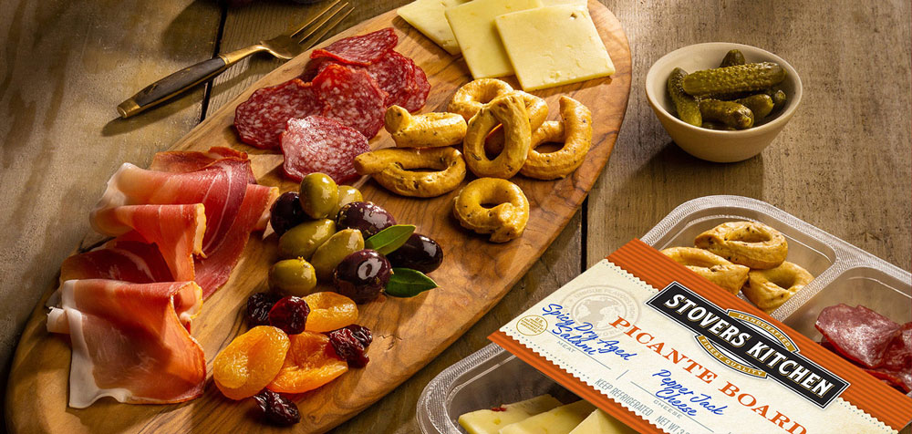 Stovers Kitchen meat and cheese charcuterie board